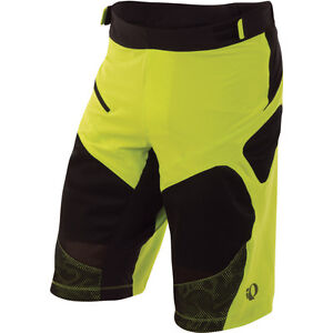 Pearl Izumi Men's Veer Short Cycling MTB Lime Black New