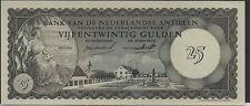 Netherlands Antilles  25 Gulden  2.1.1962 ,P 3a Prefix A Certified CGC 66 PQ Unc