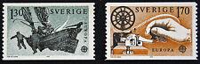 Timbre SUÈDE / Stamp SWEDEN Yvert et Tellier n°1040 à 1041 Europa n** (cyn9)