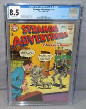 STRANGE ADVENTURES #164 (Robot Cover) CGC 8.5 VF+ DC Comics 1964