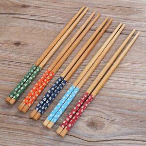 Chopsticks Kitchen Accessories Wooden Food Chop Stick Handmade Reusable Utensils