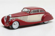 Scale model car 1:43 DELAGE D8 105S Aerodynamic Coupe 1935 Maroon/White