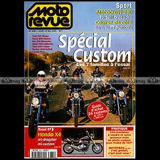 MOTO REVUE N°3281 HONDA F6C GUZZI YAMAHA VMAX 1200 KAWASAKI VN BUELL NORTON 750