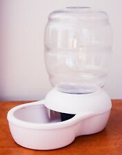 Petmate Replendish Gravity Waterer w/ Microban 0.5 GAL White Color