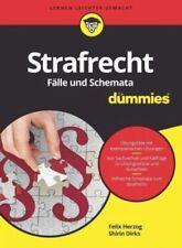 Strafrecht - Fälle und Schemata für Dummies von Felix Herzog; Shirin Dirks NEU
