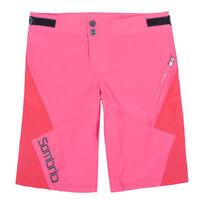 Sombrio Drift Women's Mountain Bike Mtb Baggy Cycling Shorts Pink Size M New