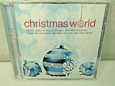 Christmas World Music CD Celine Dion R Kelly Whitney Houston Aguilera Bolton