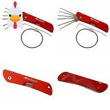 Dietrich Set | Multipick ® Red | Lockpicking Set In Profiqualität Aus Hochwert