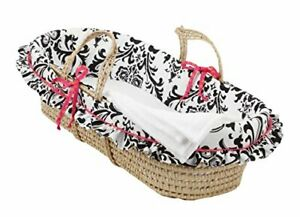 Cotton Tale Designs Moses Basket Girly