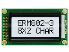 5V Wide Angle 8x2 LCD Module Character Display w/Tutorial,HD44780,Black White