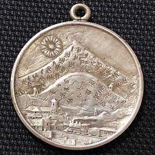 🇧🇴BOLIVIA 1912 SILVER MEDAL •POTOSI RAILWAY INAUGURATION • 8.65gr. • 26mm •