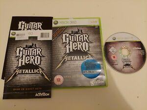 GUITAR HERO METALLICA XBOX 360 PREOWNED