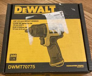 "DEWALT DWMT70775 Impact Wrench 3/8"" Pneumatic 300 Ft-LBS Square Drive"