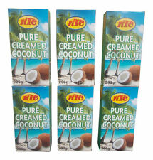6 x KTC PURE CREAMED COCONUT CREAM MILK,QUALITY COOKING THICKENING AGENT