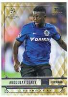 2017 2016-17 Topps UEFA Champions League Showcase Gold /99 #43 Abdoulay Diaby