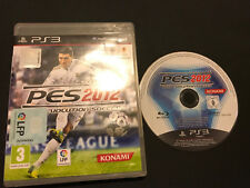 Pro Evolution Soccer 2012 PES PS3 Play Station 3 PAL ESPAÑOL