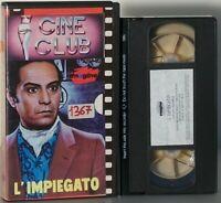 L'impiegato FILM VHS Gianni Puccini Nino Manfredi Eleonora Rossi Drago