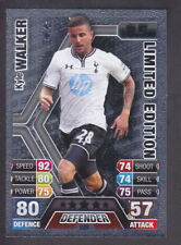 Match Attax 2013/14 - LE6 Kyle Walker - Tottenham - Silver Limited Edition