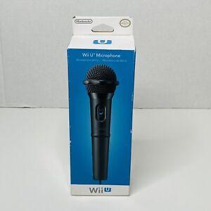 Nintendo WIi U Console USB Microphone Sealed New in Box NIB for Wii U Games