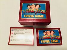 The Three Stooges Trivia Game Question Cards 250 cards 1000 Questions