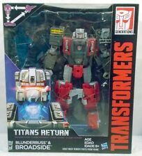 Transformers Generations TItans Return Voyager Blunderbuss & Broadside (MISB)