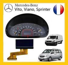 ECRAN OBD COMPTEUR LCD de MERCEDES VITO / VIANO à partir de 2004 VENDEUR PRO B3