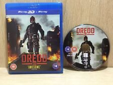 Dredd 3D Blu Ray Great Disc