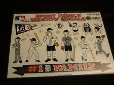 ** DETROIT TIGERS **Authentic MLB Die Cut Window Decals SPIRIT FAMILY