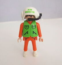PLAYMOBIL (Y3215) HOPITAL - Homme Pilote de l'Hélicoptère de Secours 3845