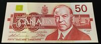 1988 Canada 50 Dollar Bill UNC BC-59aA Replacement EHX3911166