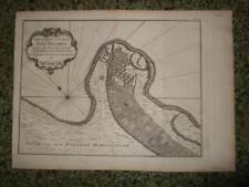 1750,MADAGASCAR,E.AFRICA,PLAN FORT-DAUPHIN-TOLANARO/TOLAGNARO,ANOSY,FLACOURT