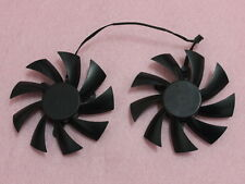 87mm EVGA GTX760 GTX770 Video Card Dual Fan Replacement 42mm PLA09215B12H R200