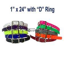 "Dogtra 1"" Dog Collar Strap Replacement Arc Edge Pathfinder / Trx 1900S 2700Tb"