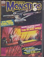 Famous Monsters March 1980 The Black hole Buck Rodgers Chris Lee 013018DBE
