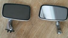 Genuine ORIGINAL Pair TEX Door Mirrors MGB MGBGT MGC Midget Mini Jaguar Triumph