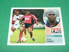 BLAISE KOUASSI EN AVANT GUINGAMP EAG PANINI FOOT 2003 FOOTBALL 2002-2003