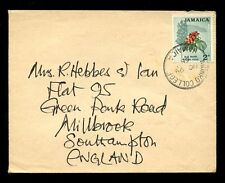 JAMAICA 1965 MUNRO COLLEGE POSTMARK 2d to SOUTHAMPTON GB