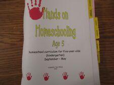 Hands-On Homeschooling Age 5 (by Terri Wilson)