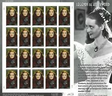 Bette Davis Legends of Hollywood 42 Cent USPS Stamp Sheet 20 Stamps 2008 Jezebel