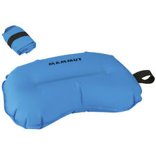 Mammut Element Air Pillow aufblasbares Kopfkissen blau