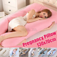 Pregnancy Pillow Maternity Belly Contoured Body U Shape Extra Comfor