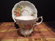 Royal Albert Friendship Chrysanthemum One Tea Cup And One Saucer Set