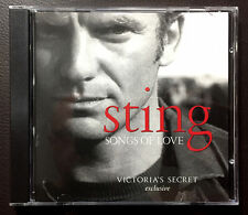 Sting / Songs Of Love 2003 8-track A&M CD album Victoria's Secret compilation