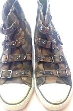 Sneaker ASH KIDS FIFI - scarpa bimbo bimba - colore militare - N° 35 - USATE