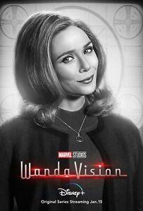 Wanda Vision poster (c)  : 11 x 17 inches : Elizabeth Olssen