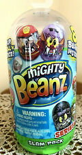 New Mighty Beanz Series 2 Slam Pack with 8 Beanz ~Sealed