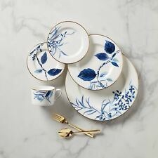Kate Spade - Birch Way Indigo 5-Piece Dinnerware Place Settings (Set of 8)