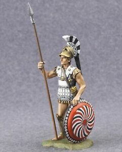 SPARTAN FROM THE SQUAD OF KING LEONID Hand Painted Toy Soldiers Tin54mm1/32