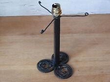 RARE 1 ancien pied de lampe en fer forgé - Lampe ART DECO