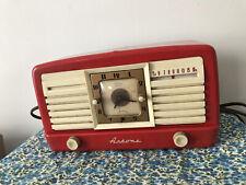 Jewel 5057U artone Am Tube Clock Radio (1950)
